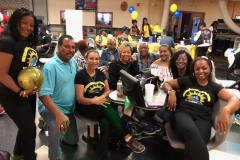 Bowling with the Buffalo Soldiers Motorcycle Club